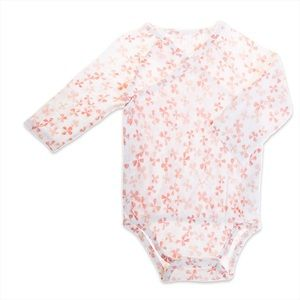 Aden + Anais Long Sleeve Kimono Bodysuit *NEW*